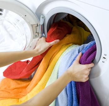 Rote wasche einzeln waschen