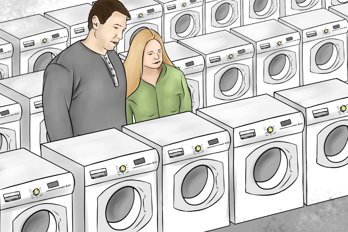 Kaufberatung Waschmaschine - Das Angebot an Waschmaschinen ist gross und unübersichtlich.