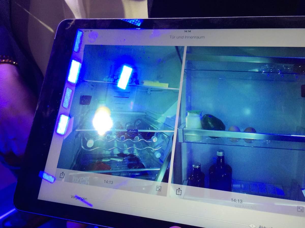 Bosch Kühlschrank Kamera : Home connect von siemens & bosch zukunft im haushalt