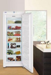 Kühlgeräte und Gefriergeräte im Überblick - Gefrierschrank - Bild © Liebherr