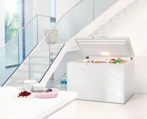 Kühlgeräte und Gefriergeräte im Überblick - Gefriertruhe Bild © Liebherr