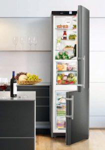 Kühlgeräte und Gefriergeräte im Überblick - Kühl-Gefrier-Kombination - Bild © Liebherr