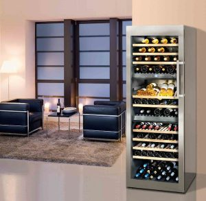 Kühlgeräte und Gefriergeräte im Überblick - Weinkühlschrank - Bild © Liebherr