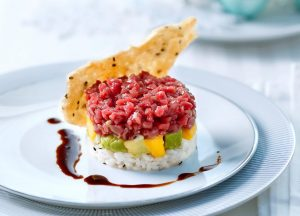 Tatar-Sushi-Türmchen - Rezept von Betty Bossi & Miele