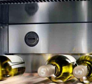 Aktivkohlefilter im Weinkühlschrank