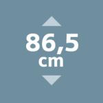 Geschirrspüler-Bauformen - 86,5 cm hoch