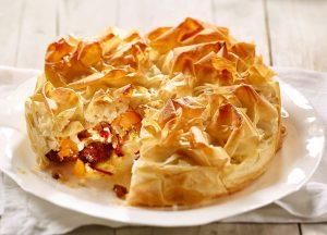 Pikanter Kürbis-Strudel-Kuchen - Rezept von Betty Bossi & Miele