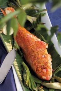Grillierte Rotbarben mit gelbem Curry - Rezept von Betty Bossi & Miele