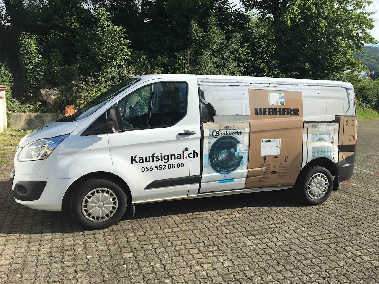 Kaufsignal-Auto neue Fahrzeugbeschriftung