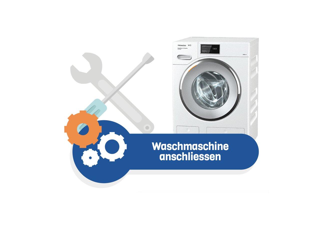 Gut gemocht Waschmaschine anschliessen in 10 Schritten JL48