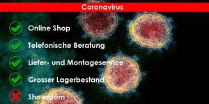 Coronavirus: Vorgang bei Gerätelieferungen und Installationen